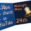 'Shining in the darkness' – 24th December 2020 – Christmas Eve: Midnight Mass