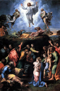Painting of the Transfiguration by Raphael
